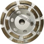 4 inch Double Row Diamond Grinding Cup Wheel, 100mm diamond cup wheel