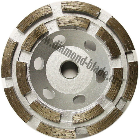 How To Use Diamond Cup Wheels And Polishing Pads For