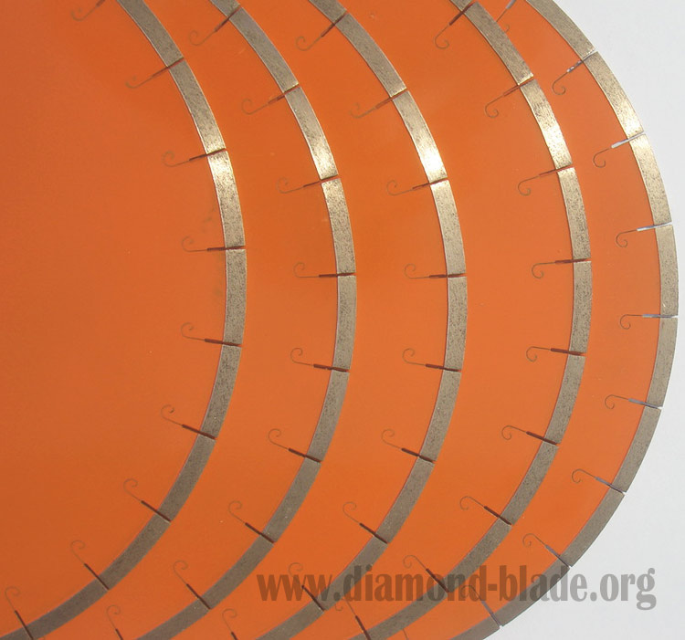 diamond saw blade -J slot