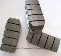 Metal Bonded Diamond Fickert Block for Grinding Granite Stone