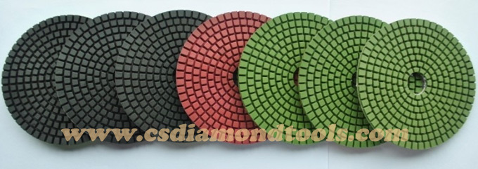series diamond polishing pads
