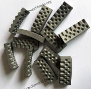 Diamond segments for concrete cutting and drilling, diamond core bit segment