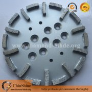 New Design 250mm 10inch Diamond Grinding Plates for Concrete