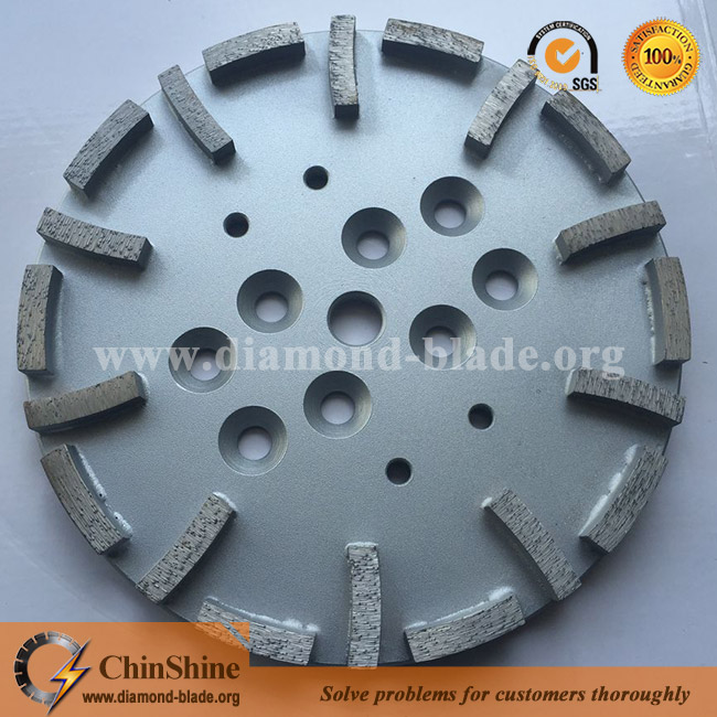 10inch 250mm diamond grinding plates for concrete
