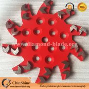 Floor Diamond Grinding Plates and Diamond Grinding Wheels Supplier
