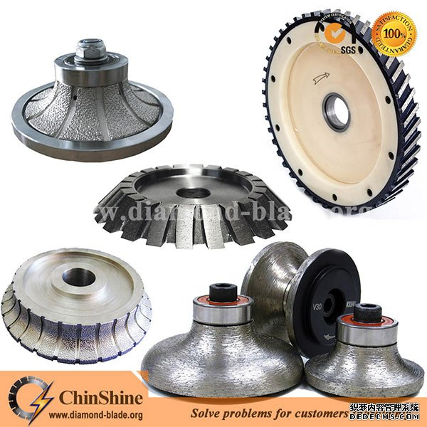 China diamond profile grinding wheel and router bit for sale