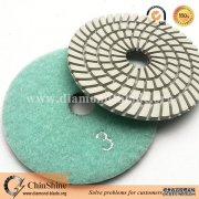 buy quality 3 steps diamond polishing pads for sale from China supplier
