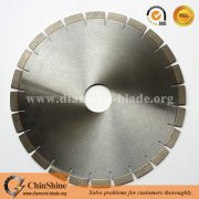 Professional manufacturer 350mm diamond cutting disc for granite slab cutting