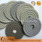 "Cheap price 4"" 100mm 7 steps granite and marble wet polishing pads for angle grinder"