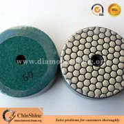 Hot selling natural stone Dry polishing pad for North and South American market