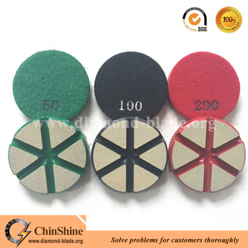 3 inch floor ceramic transition polishing pads for concrete for sale