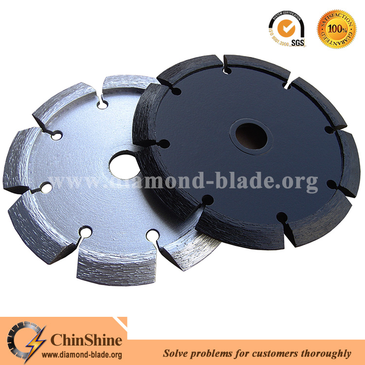 dry cut V shape crack chaser blade for concrete chasing and repairing