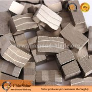 Good price M shaped diamond segment for granite multi saw blades
