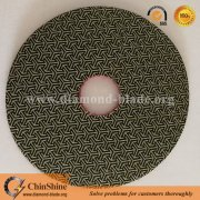 4 Inch Diamond Electroplated Wet Polishing Pad For Marble Polishing