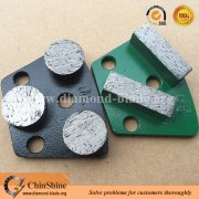 ASL quick change metals diamond floor grinding disc for concrete