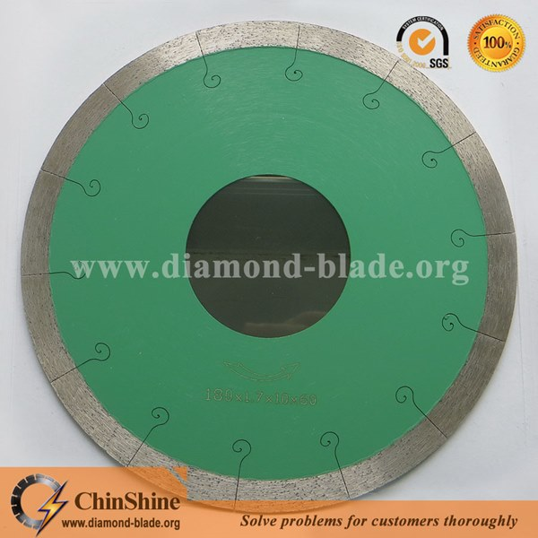 Premium quality j slot tile and porcelain diamond circular saw blades greentooth