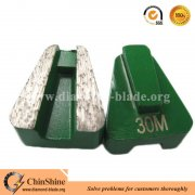 Metal bonded diamond grinding shoe for Scanmaskin floor grinders