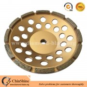 Standard 7 inch single row diamond grinding cup wheel for concrete