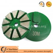 10 segments redi-lock diamond grinding disc for concrete floor