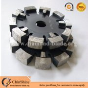 Diamond tuck point saw blades for bricks and concrete grooving