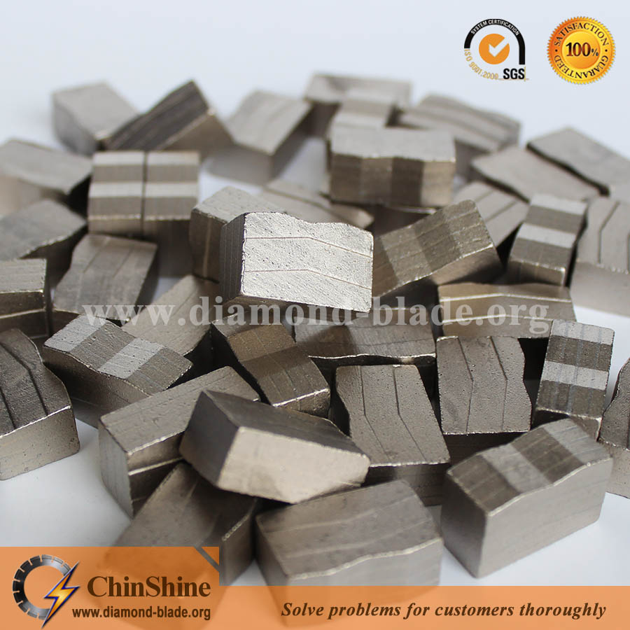 M shape granite diamond segment
