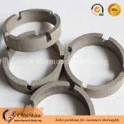 Crown shape diamond drill bit segment for concrete and granite