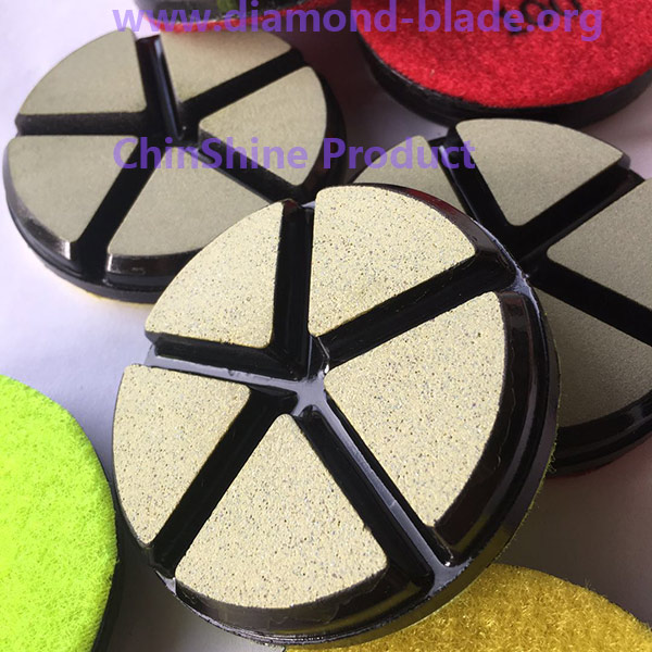 3 inch ceramic polishing pad for concrete floor