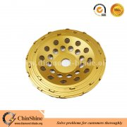 Concrete 7 inch PCD grinding cup wheel for floor coatings removal