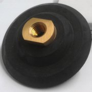 Rubber Backer Pads for polishing pad,Hook and Loop Backing pads with Velcro